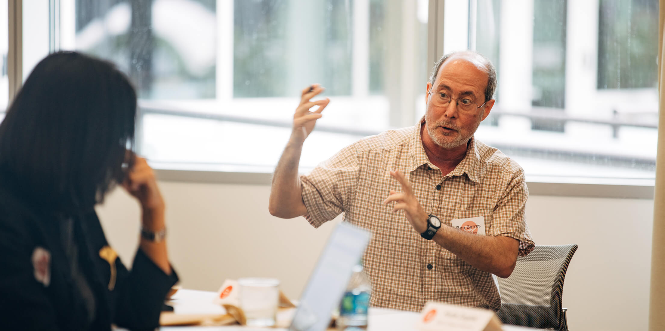 CZI's Ben Barres Early Career Acceleration Awards are named for the late Ben Barres (pictured), an American neurobiologist and fierce advocate for young scientists, women, mentorship, and diversity in science.