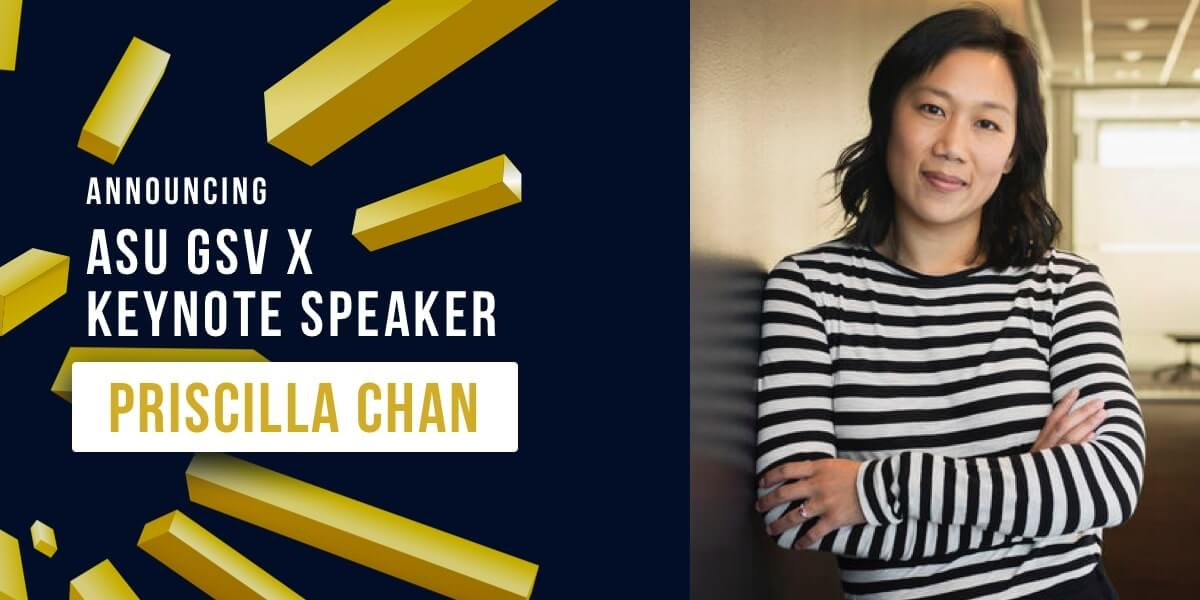 Chan Zuckerberg Initiative Joins 10th Annual ASU GSV - Chan