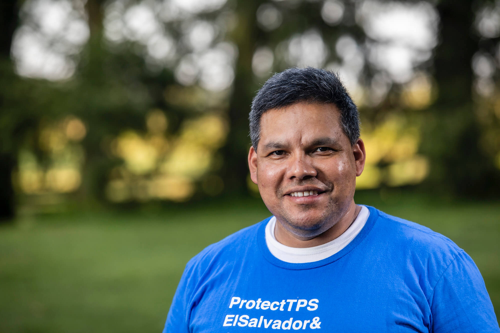 Portrait of José A. Palma, a National TPS Alliance spokesperson and coordinator