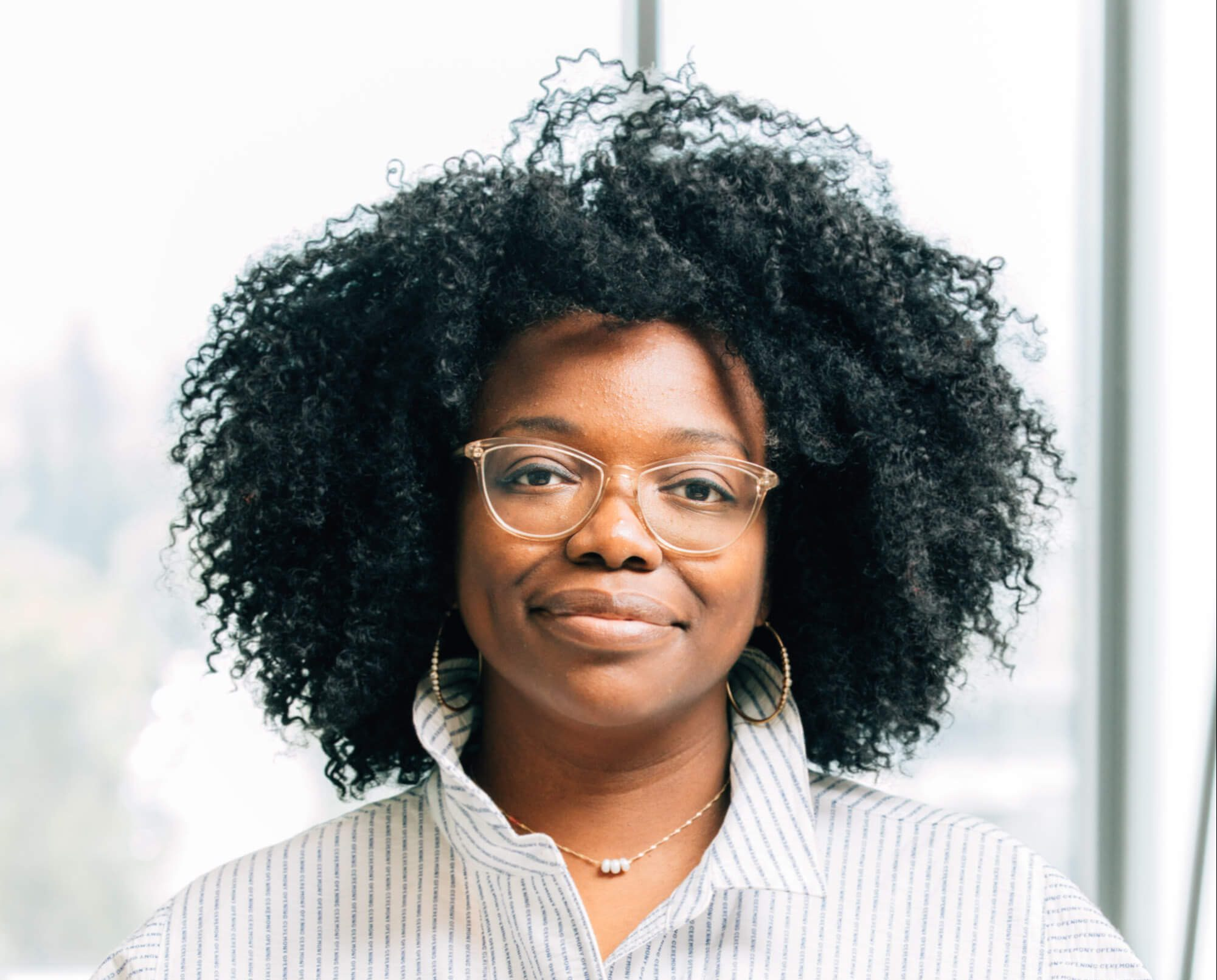 A portrait of Osi Imeokparia, Vice President, Product and Head of Justice & Opportunity Technology at the Chan Zuckerberg Initiative