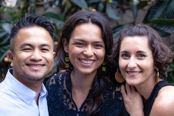 Wendy Martinez-Marroquin, Jonathan Relucio, and Danielle Ancin, Facilitators, AllThrive Education (CZI Grant Partner Training Sessions).