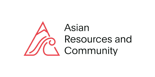 Asian Resources and Community (ARC) logo, with black text and red triangular mountain and water icon at left - CZI Employee Resource Groups (ERGs).