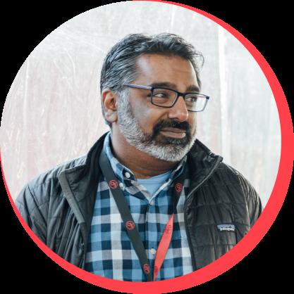 Kishore Hari, Community Engagement Strategist, CZI.