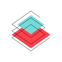 """http://Stylized%20""""Data%20Technical%20Program%20Manager""""%20icon%20of%20several%20stacked%20rhombuses,%20in%20blue%20and%20red%20(CZI%20Candidate%20Resources)."""