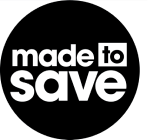 Made to Save logo, with white text in solid black circle - COVID-19 Response, CZI.